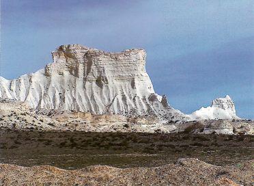 Горы Мангышлака - результат бурных геологических процессов