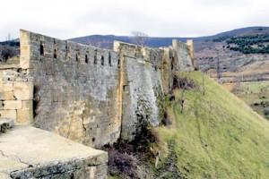 Город-крепость Баб ал Абваб, ныне Дербентская крепость
