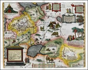 Карта Антония Дженкинсона