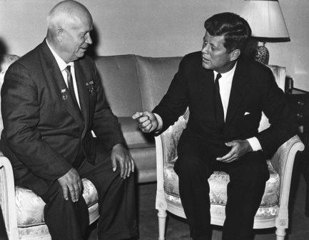 Хрущев и Кеннеди. 1961 г.