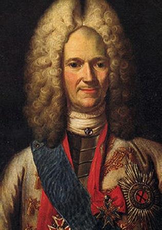 Портрет А. Д. Меншикова. 1716—1720 гг. Неизвестный художник