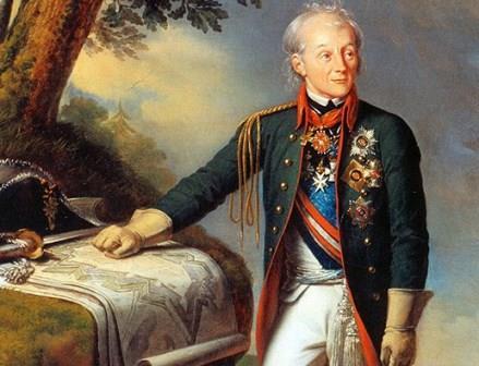 Портрет фельдмаршала А. В. Суворова. Неизвестный художник, XIX век.
