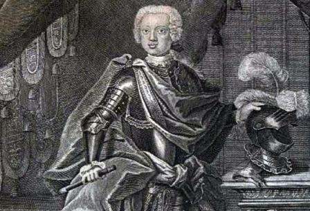 Принц Антон-Ульрих Брауншвейгский 1740 г. Фото: nlr.ru