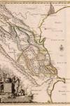 Карта Каспийского побережья от Волги до Куры, составленная Гербером в 1728 году