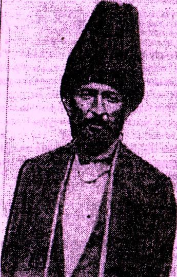 Предполагаемый фотопортрет Етима Эмина (из групповой фотографии судей Южного Дагестана, 1864-1865 гг.)