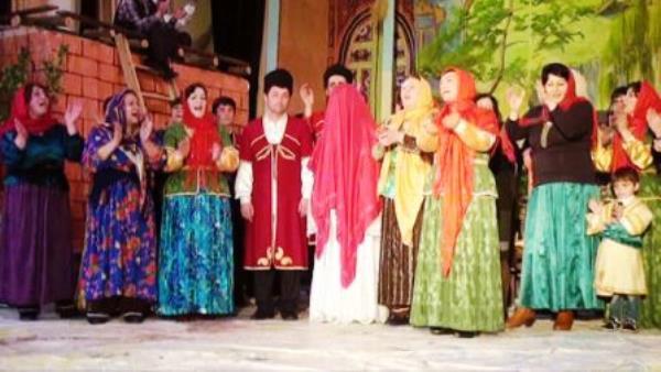 Гастроли Кусарского Лезгинского государственного драматического театра в Москве