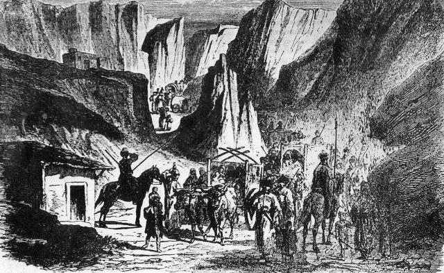 Выселение абхазов – 1867 год.