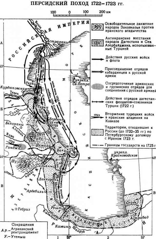 Каспийский поход Петра I